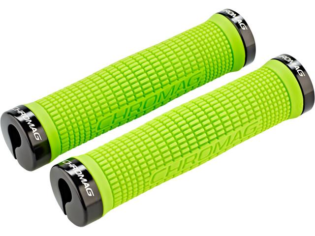 Chromag Squarewave Grips tight green